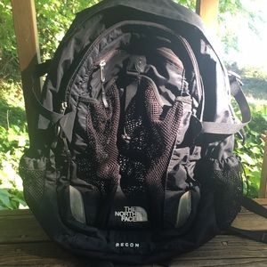Well-loved North Face Recon backpack!